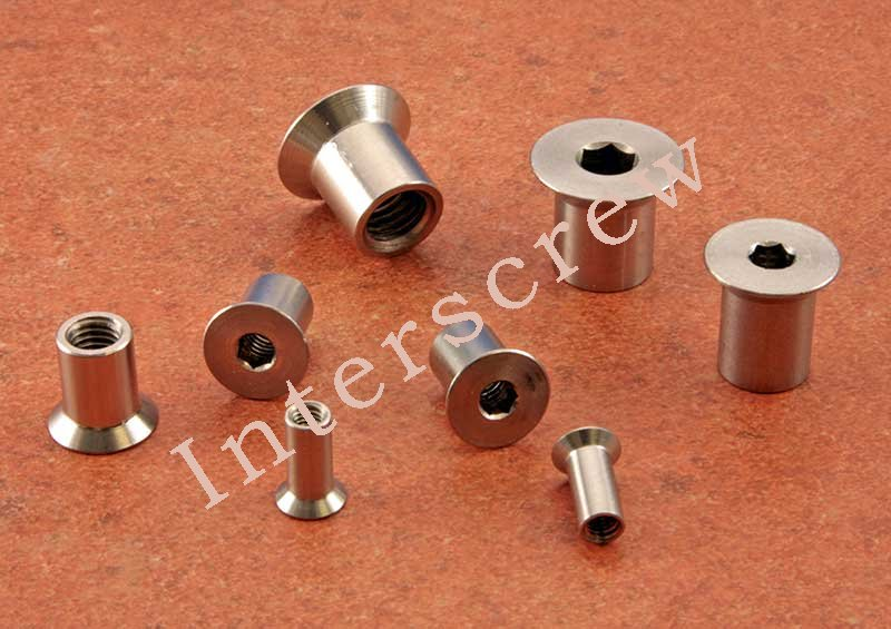 Countersunk Socket Interscrew Stainless Steel - Click Image to Close