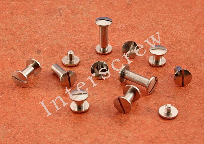 Brass Nickel Plated Interscrew - Click Image to Close